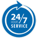 24/7 Hour Service