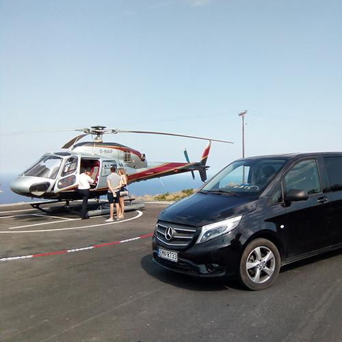 Helicopter Tours of Santorini